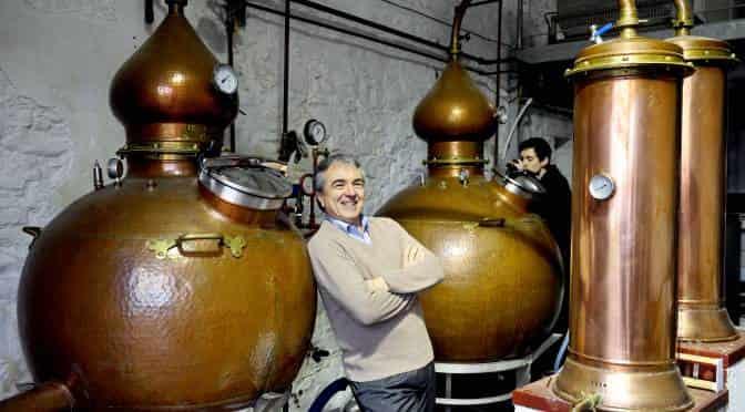 Still life shaken and stirred by Strathearn Distillery