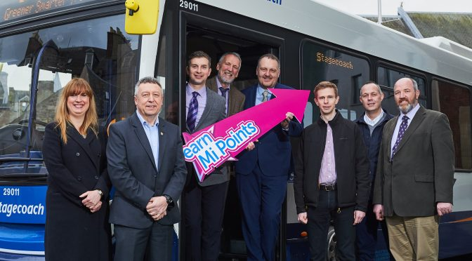 Stagecoach boosts Perthshire independent businesses by getting on board with Mi Rewards