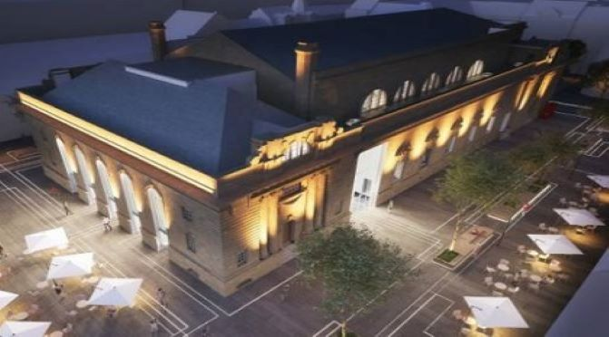 Work underway on transformation of Perth City Hall