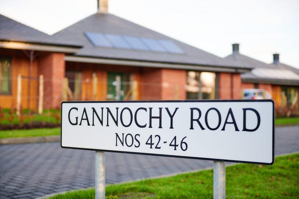 Gannochy Trust housing development.