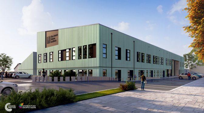 Building work begins at James Hutton Institute's £62M Development